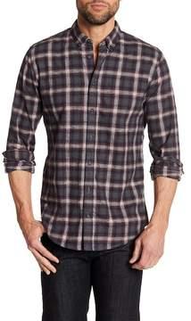 HUGO BOSS Edipoe Plaid Slim Fit Shirt