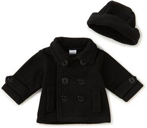 Starting Out Baby Boys 3-24 Months Peacoat Jacket & Matching Hat Set
