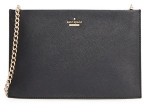 Kate Spade Cameron Street - Sima Leather Shoulder Bag - Black - BLACK - STYLE
