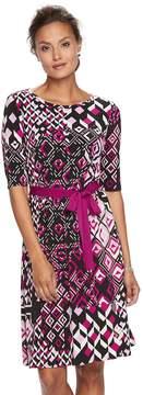 Dana Buchman Women's Scoopneck Dress