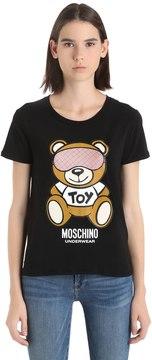 Moschino Underbear Printed Cotton Jersey T-Shirt