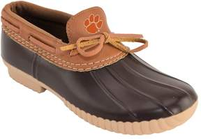NCAA Women's Clemson Tigers Low Duck Step-In Shoes