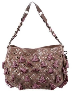 Marc Jacobs Dancer Tassel-Embellished Shoulder Bag - BROWN - STYLE