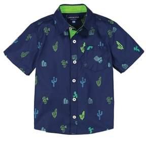 Andy & Evan Cactus Woven Shirt