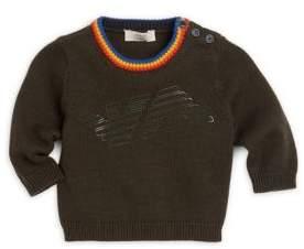 Armani Junior Baby Boy's Logo Sweater