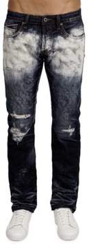 Cult of Individuality Rebel Straight Cotton Breaker Jeans
