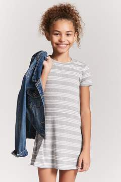 Forever 21 Girls Stripe Swing Dress (Kids)