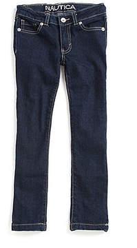 Nautica Little Girls' Skinny Denim Jeans (2T-7)