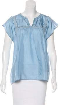 Calypso Sleeveless Silk Top