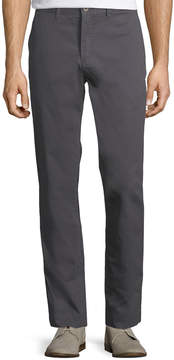Jachs Ny Bowie Straight-Leg Stretch Chino Pants, Gray