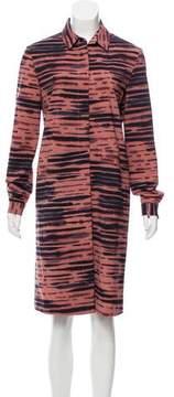 Cacharel Printed Knee-Length Dress