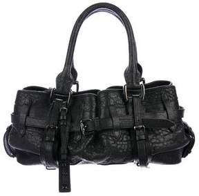 Burberry Buckle-Embellished Shoulder Bag