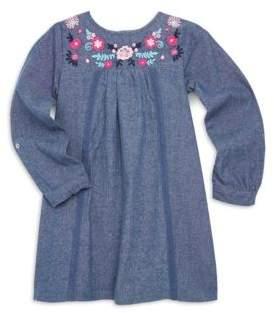 Design History Toddler's & Little Girl's Chambray Cotton Dress