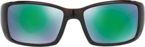Costa del Mar Blackfin Brown Rectangle Sunglasses