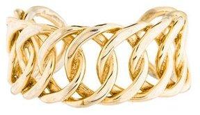 Chanel Curb Link Cuff Bracelet