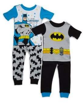 AME Sleepwear Little Boy's Batman Sleep Set