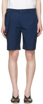 Craig Green Navy Slim Shorts