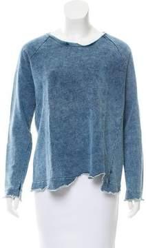 Generation Love Distressed Long Sleeve Sweatshirt
