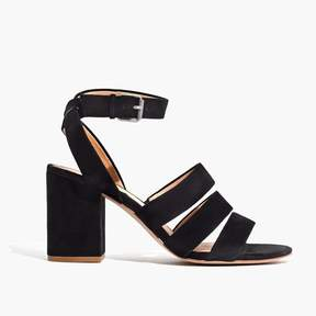 Madewell The Maria Sandal in Suede