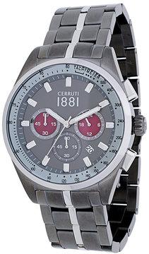 Cerruti three dial watch