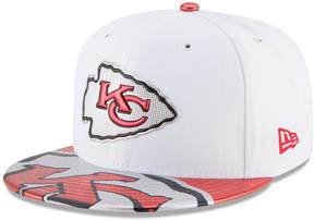 New Era Kansas City Chiefs 2017 Draft 59FIFTY Cap