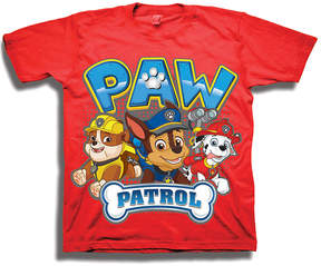 Freeze Red PAW Patrol Trio Tee - Boys