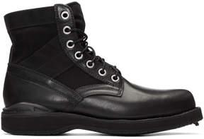 Visvim Black 73 Folk Lace-Up Boots