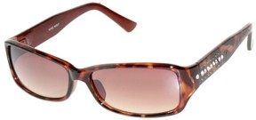Nine West Womens Small Rectangular Sunglasses