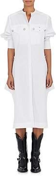 Calvin Klein Women's Striped Cotton Poplin Shirtdress