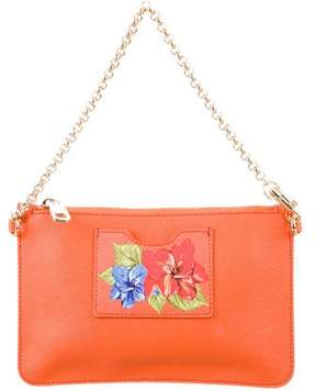 Dolce & Gabbana Dauphine Leather Mini Bag - ORANGE - STYLE