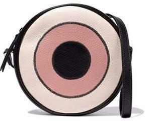 RED Valentino Textured-Leather Shoulder Bag