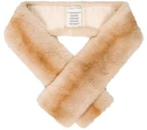 Max Mara Sheared Mink Fur Stole