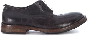 Moma Dark Brown Leather Lace Up
