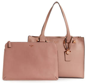 GUESS Talan Pebbled Faux-Leather Tote