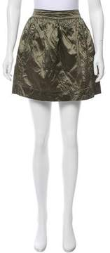 Calypso Silk Mini Skirt