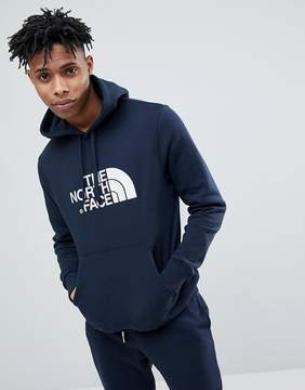 The North Face Drew Peak Pullover Hoodie In Navy