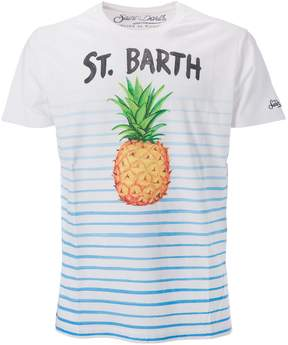 MC2 Saint Barth Printed Pineapple T-shirt