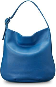 Shinola Birdy Grained Leather Hobo Bag
