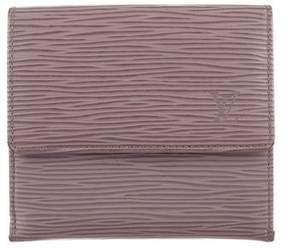 Louis Vuitton Epi Elise Wallet - GREY - STYLE