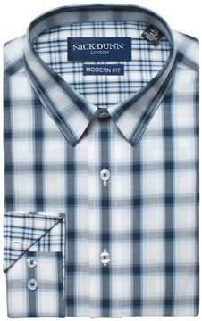 DAY Birger et Mikkelsen Men's Nick Dunn Modern-Fit Gingham Plaid Dress Shirt
