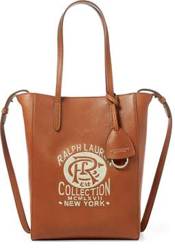 Ralph Lauren Embroidered Mini Modern Tote