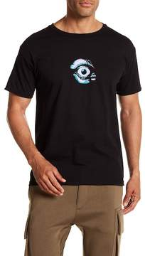 Obey Dialated Graphic Crew Neck Tee