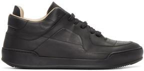 Maison Margiela Black Low-Top Sneakers