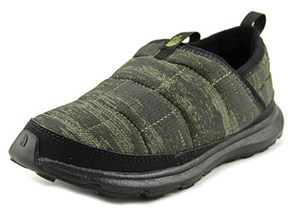 The North Face Thermal Tent Mule Youth Round Toe Synthetic Green Loafer.