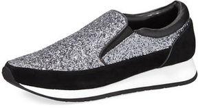 Donald J Pliner Ronie Special Glitter Two-Tone Sneaker
