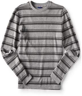 Aeropostale Final Sale - Long Sleeve Varsity Stripe Thermal Tee