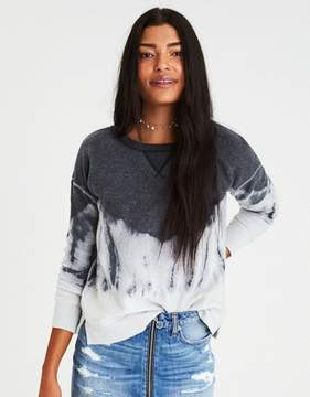 American Eagle Outfitters AE Cozy Inside & Out Tie-Dye Sweatshirt