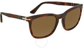 Persol Gradient Brown Square Sunglasses PO3193S 108/M2