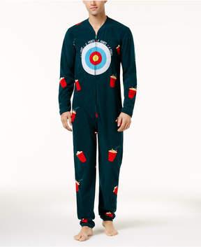 Bioworld Men's Halloween Ball Toss Game Onesie Costume