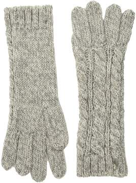Polo Ralph Lauren Alpaca Classic Aran Gloves Wool Gloves
